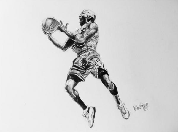 Michael Jordan by Lolochou
